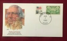 JOHN'S DEALS - US 1983 NATHANAEL GREENE COVER - RHODE ISLAND - FLEETWOOD