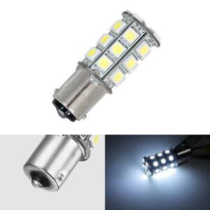 12V BA15S 1156 LED Replace Bulb Car Interior Dinette Dome Light Cool White 27SMD