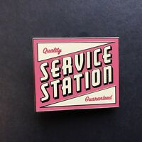 WDI - Cars Land Mystery Collection Service Station Sign LE 200 Disney Pin 87153