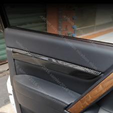 Fit For Mitsubishi Pajero Carbon fiber color Door Armrest Decorator Stripe Cover