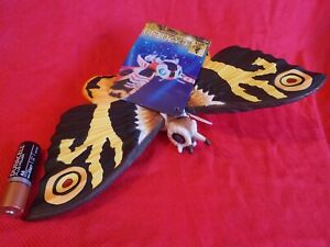 "NEW REISSUE 2004 MOTHRA WIDTH 9.5"" 24cm BANDAI Sofubi PVC Figure GODZILLA UK DSP"