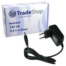 2A 12V 5,5*2,5mm Netzteil Adapter für Trekstor YHXH060-120200 Enerpower EP12V2A