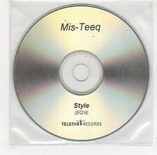 (GI46) Mis-Teeq, Style - DJ CD