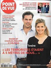 POINT DE VUE N° 3530--DIANE & CHARLES D'ORLEANS/ROI DES PAYS BAS/KATE & WILLIAM