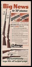 1954 SAVAGE Model 5 & 29...STEVENS 87 & 15 .22 Rifle AD