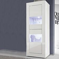 Vetrina 2 ante sportelli contenitore buffet moderna Basic soggiorno salotto sala