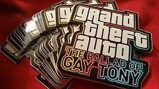 Qty-100 pcsROCKSTAR GTA BALLET OF GAY TONY Stickers! New Supply RECALLED ITEM!!
