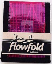 FLOWFOLD USA Slim Bifold Wallet Front Pocket Sailcloth Waterproof Vegan Vanguard