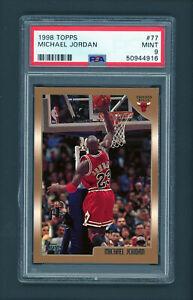 1998-99 Topps Michael Jordan #77 PSA 9 MINT Basketball Card