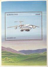 Burkina Faso- 1999 Airplanes Souvenir Sheet of 1 MNH