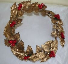 Antique Metal Wreath Very Cool