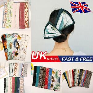 Deft Bun 27 Colors Hair Bands Women Summer Knotted Wire Headband Print Hair Tool