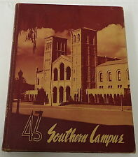 1943 UCLA Southern Campus Yearbook~ featuring BOB WATERFIELD NFL HoF, Football
