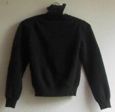 Jil Sander Cashmere Pullover for women, size 42, dark brown, with turtleneck
