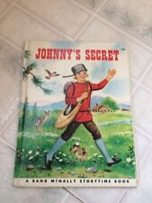 Vintage Johnny Appleseed childrens book illustrations for framing or craft