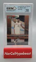 2003 Upper Deck Rookie Exclusives LeBron James RC Star Rookie #1 Gem Grading 10