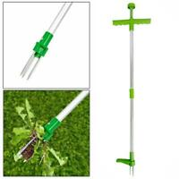 Weed Puller Weeder Twister Twist Pull Garden Lawn Root Remover Killer Tool TI