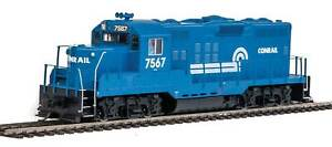 HO Scale - WALTHERS MAINLINE 910-10421 CONRAIL EMD GP9 PH II #7567 Decoder Ready