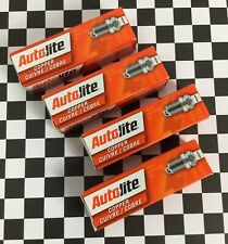Set of 4 Autolite Copper Cuivre/Cobre Core Spark Plugs Auto Engine Plug 3924