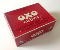 Vintage British Advertising Food Tin OXO Cubes 24-6's Retro