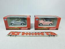 BB230-0,5# 2x Schuco Junior Line 1:43 331 5073 PKW Volkswagen/VW Käfer, NEUW+OVP