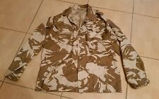 British Army Issue Tropical Desert Camoflage Lightweight Jacket DPM  180/104