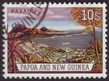 PAPUA NEW GUINEA - TEN SHILLINGS RABAUL  FINE USED (A11745)