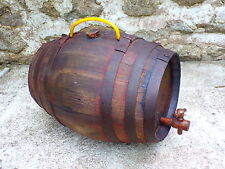 Old Large French handled iron Oak Wine CASK barrel vintager harvester