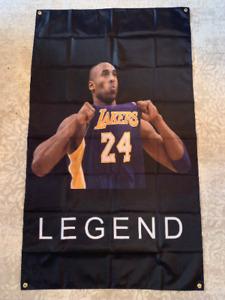 "Kobe Bryant ""LEGEND"" Los Angeles Lakers BIG 3'x5' Banner Flag"