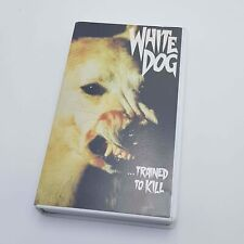 Vintage 1981 WHITE DOG Betamax Video Cassette Pre-Cert UK PAL CIC