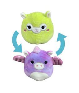 """5"""" Flipamallow Kimberly Alpaca/ Willow Pegasus NWT Squishmallows Kelly Toy"""