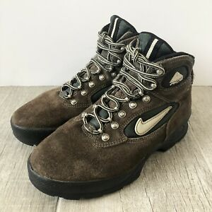 Vintage Nike Air ACG Trail Leather Lace Hiking Boots 970709 Women's Size 7