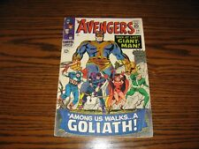 Marvel - THE AVENGERS #28 - 1st App THE COLLECTOR!!  Glossy VG+  1966