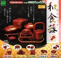 epoch Japanese unit Gashapon 5 set mini figure capsule toys