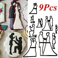 Sugarcraft Mold Family Silhouette Set Cake Decorating Patchwork Cutters Mold