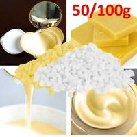 Yellow White Beeswax Pellets Natural Cosmetic Grade Beeswax Candle Soap Making