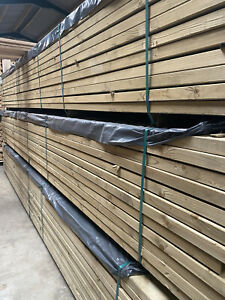 Timber C24 Pressure Treated 6x2 45x145 4.8m Large Stock