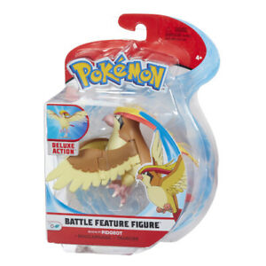 Pokemon Figure Action Pidgeot 10cm Battle Figure Original BOTI Jazwarez WCT Tomy