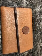 Fendi brown bifold leather wallet
