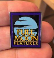 Full Moon Features VHS logo enamel pin retro 80s 90s film movie tape hat lapel