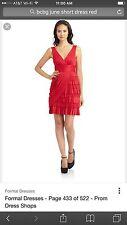 BCBG Max Azria Size 0 Red Dress, Size 0