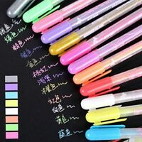 Multi Pastel Color Gouache Ink Gel Pen Stationery Deco Diary Photo Card Making