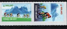 2017 NORWAY UCI Cycling World Championship  NK 1962-63  MNH