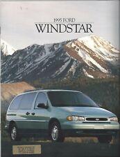 1995 Ford Windstar Sales Brochure 95 News