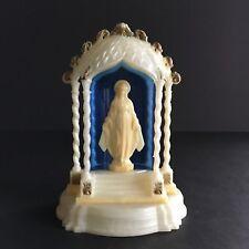 Vintage Mid Century Mary Shrine E.S.M. Made in Italy