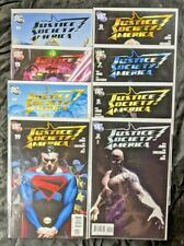 2007-08 DC Comics JUSTICE SOCIETY of AMERICA Lot #'s 2 5 7 9 10 12 15 16