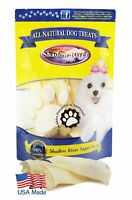 Shadow River USA Premium Lamb Ear Treats for Dogs - 10 Pack Regular Size Ears