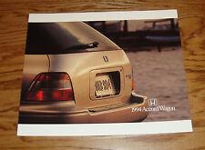 Original 1994 Honda Accord Wagon Foldout Sales Brochure 94