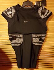 $90 Nike Pro Hyperstrong 4 Pad Compression Football Shirt Mens Size Large Black