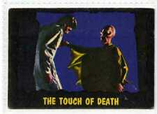 (Gv385-100) A. & B.C. Gum, Outer Limits, #40 The Touch of Death 1966 VG